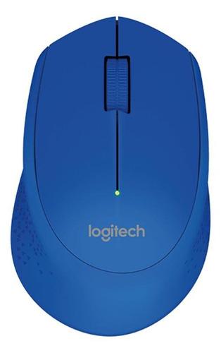 Imagen 1 de 2 de Mouse inalámbrico Logitech  M280 azul