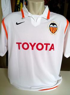 Rara Camisa Valencia 2007/08 #7 David Villa Com Patch Lfp