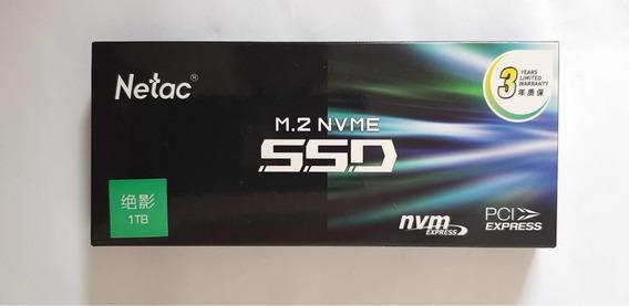 Ssd Netac 1 Tb (1000 Gb),m2 Nvme Pci , N930e Gen3x4 Gamer