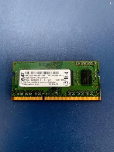 Memória 2gb 1rx8 Sbr2014060901568 Pc3l-12800s-11-11-b2