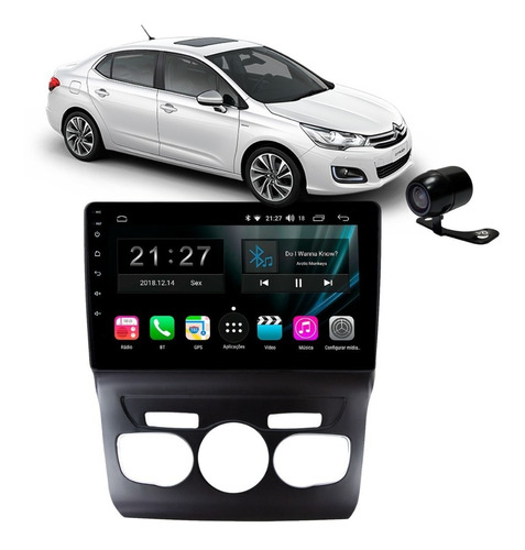 Central Multimidia Citroen C4 Lounge Android S170 10p