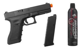 Pistola Army R17 Blowback Gbb + Green Gas Puff Dino