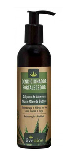 Condicionador Fortalecedor Orgânico E Vegano Live Aloe 240ml