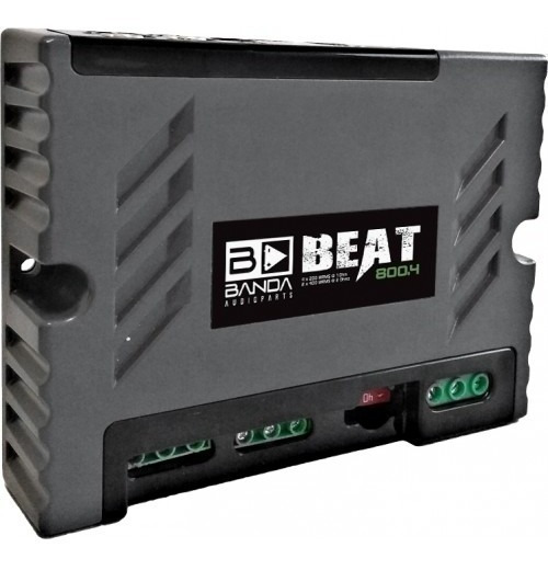 Módulo Amplificador Banda Beat 800.4 800 Rms - Bridge 2 Ohms
