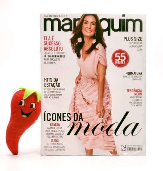 Revista Manequim Ícones Da Moda N° 717 (loja Do Zé)