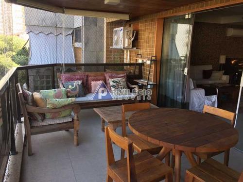 Apartamento À Venda, 4 Quartos, 2 Suítes, 2 Vagas, Botafogo - Rio De Janeiro/rj - 11120