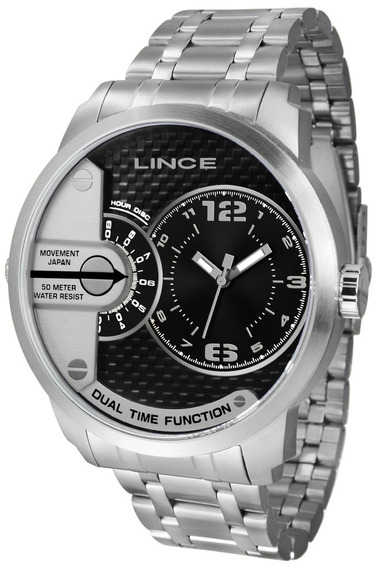 Relógio Masculino Prateado Lince Mrmh049s P2sx