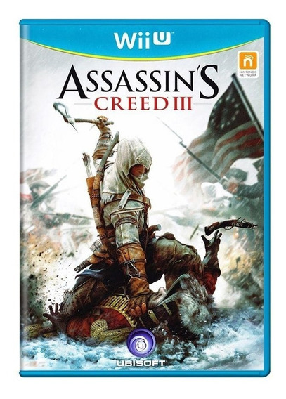 Assassins Creed Iii Wii U Mídia Física Pronta Entrega
