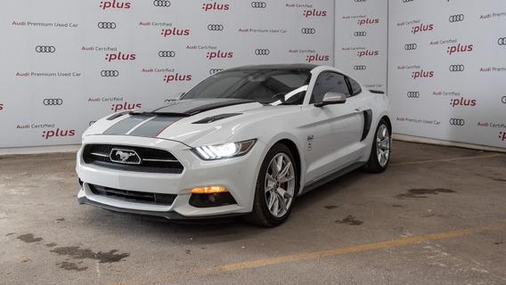 Ford Mustang 50 Aniversario Blanco 2015