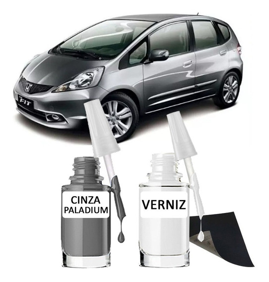 Tinta Tira Risco Automotiva Honda Cinza Paladium Nh737 15ml