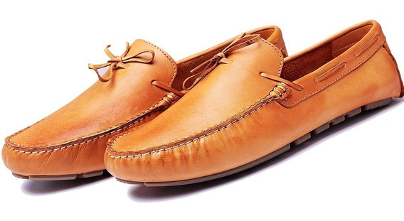 Sapato Masculino Mocassim Drive Dockside Couro Legitimo Luxo