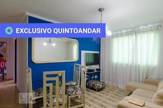 Apartamento No 12º Andar Com 2 Dormitórios E 1 Garagem - Id: 892950922 - 250922