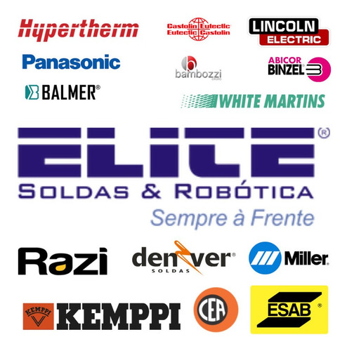 Imagem 1 de 10 de Elite Soldas E Robótica Peças E Acessórios Para Soldagem