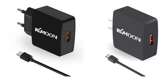 Kkmoon K6 Carga Suit Cabo Usb Charger Nos