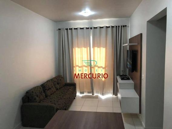 Apartamento Com 2 Dormitórios À Venda, 64 M² Por R$ 350.000,00 - Vila Cardia - Bauru/sp - Ap0297