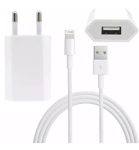 Cargador Usb De Pared + Cable iPhone, Sony, Samsung, Nokia ®