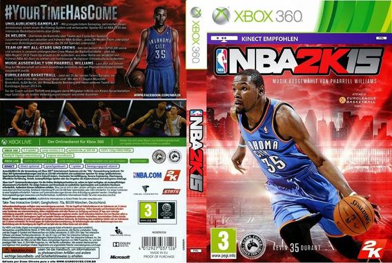 Jogo Game Nba 2k15 - Mídia Física Lacrado - Xbox 360