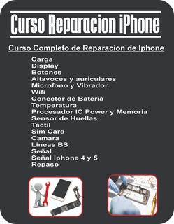 Curso Reparacion Para iPhone