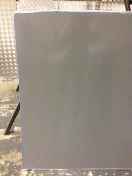 Ch. Acrilica Cinzal Leitoso(261) 1000x500mm Esp.de 3,0mm