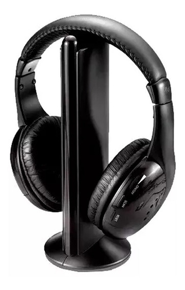Fone Ouvido Headphone Knup Kp323 Sem Fio Gamer Tv Pc Celular