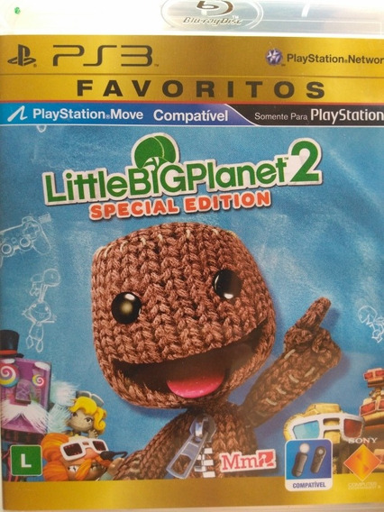 Little Big Planet 2 Ps3 , O Mais Completo !!!
