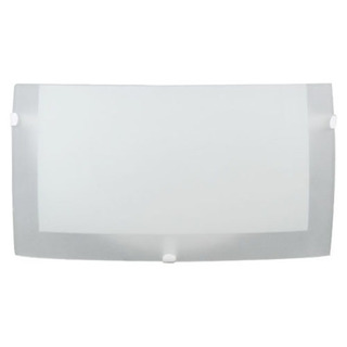 Aplique Pared Interior Vidrio Satinado Apto Led 176 Bari