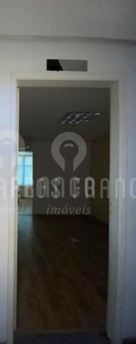 Imagem 1 de 6 de Conj. Comercial De 31m², Com Vão Livre, 1 Banheiro, Copa E 1 Vaga Na Vila Olimpia - Cf69219