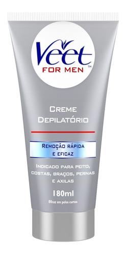 Creme Depilatório Corporal Veet For Men - 180ml