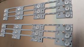 Kit 6 Barras Semp 40l2400 / Dl3944 Kdl39ss662u Nova Aluminio