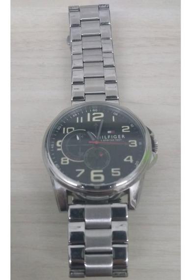 Relógio Tommy Hilfiger Original - Data E Hora C Caixa Manual