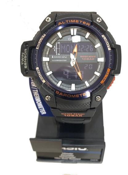 Relogio Casio Sgw450h Altimetro Barômetro Termômetro 10bar