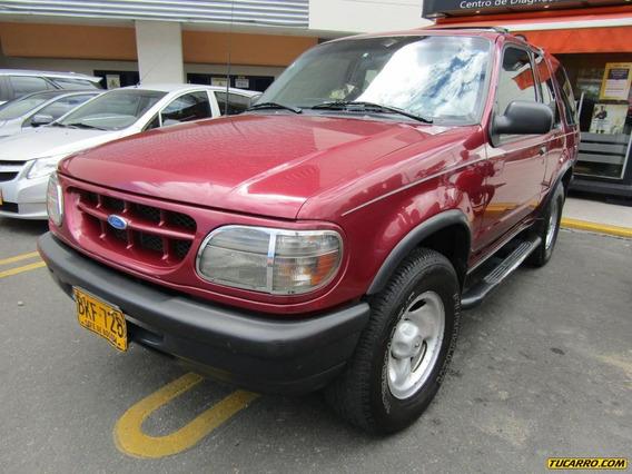 Ford Explorer Aventura 4.0 Mt 4x4