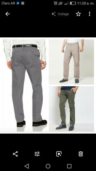 Pantalon De Gabardina Newport