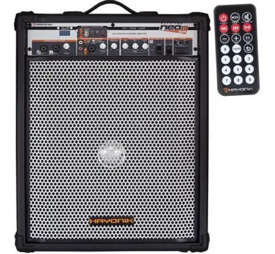 Caixa De Som Multiuso Neo 600 Fm Usb 75w Rms 44936 Hayonik