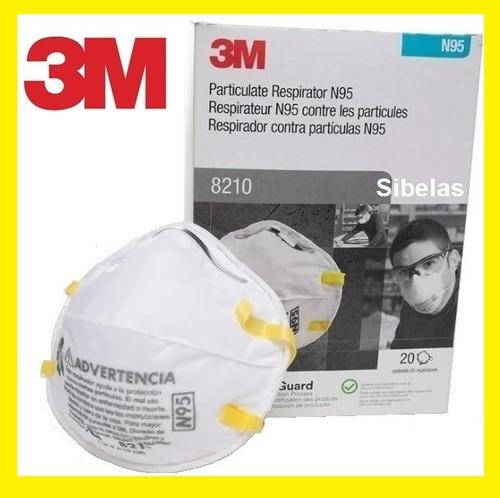 Imagen 1 de 5 de Mascarilla Respirador Médico N95 3m 1860 Unidad