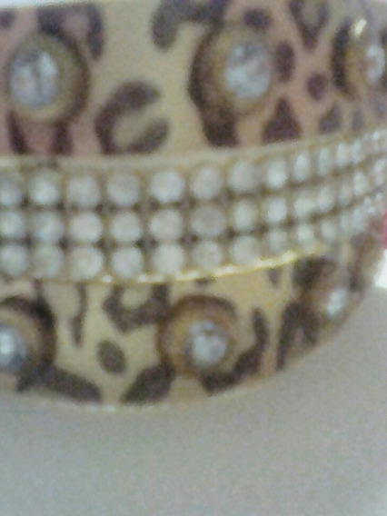 Pulseira Bracelete De Couro Feminina.