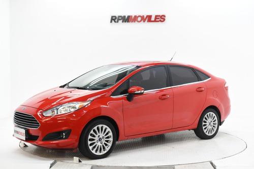 Ford Fiesta Titanium Automatico 4 Puertas 2014 Rpm Moviles