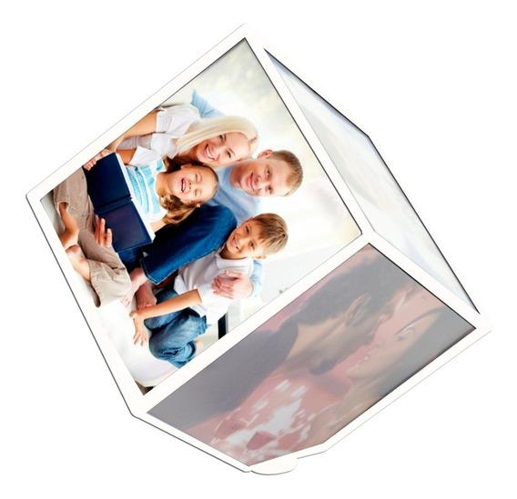 10 Foto Cubo Giratório, Para Presentear,fotos 9,8x9,8cm