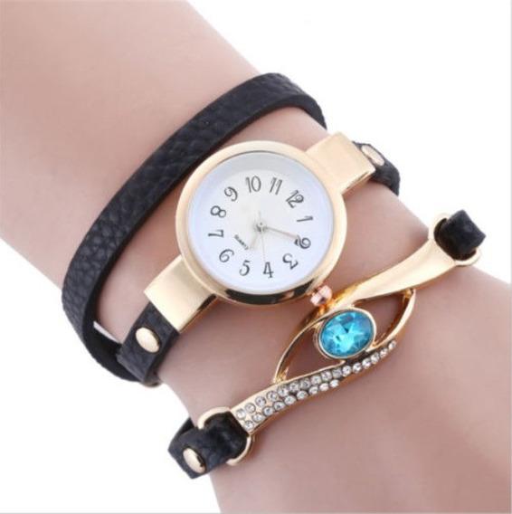 Relógio Feminino Cristal Azul - Elegante Moda Casual