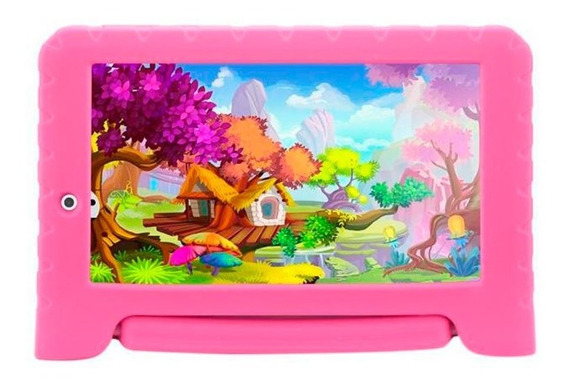 Tablet Multilaser Kid Pad 8gb Wi-fi Tela 7 Quad Core 1.2ghz