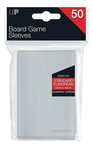 Imagen 1 de 6 de Protectores X50 Board Game Sleeves European 59 X 92 Ultrapro