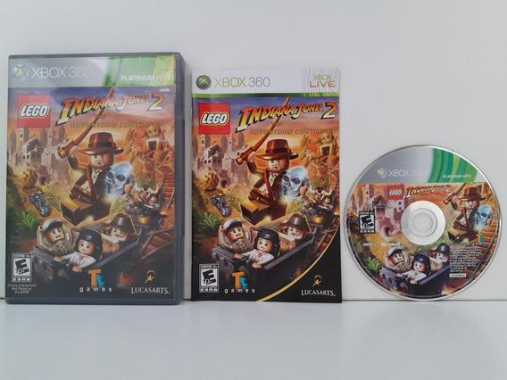 Lego Indiana Jones 2 Xbox 360 Completo Original