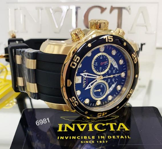 Relógio Invicta Pro Diver 6981 Vd 53 Original Frete Grátis.