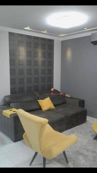 Apartamento Com 2 Dormitórios À Venda, 88 M² Por R$ 450.000 - Vila Real - Balneário Camboriú/sc Ap1414 - Ap1414