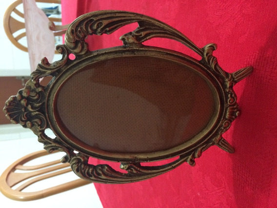 Porta Retratos Em Bronze Maciço - Modelo 2