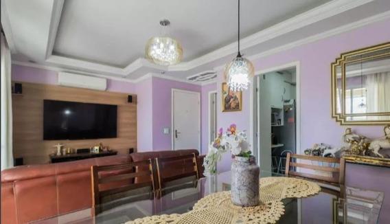 Apartamento Com 3 Dormitórios Para Alugar, 92 M² Por - Vila Augusta - Guarulhos/sp - Ap0096