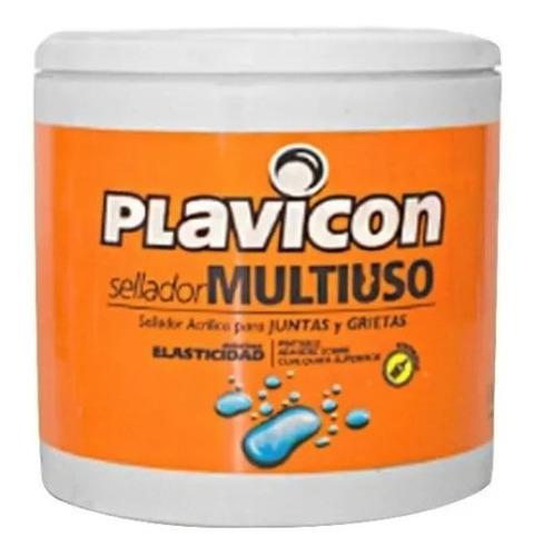 Sellador Acrílico Multiuso Plavicon Grietas Fisuras 1 Kg Mm