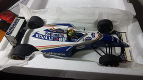 Miniatura Ayrton Senna Williams Fw16 1994 Minichamps 1/18