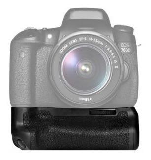 Grip Camera Canon 750d 760d Rebel T6i 8000d + 12x Sem Juros