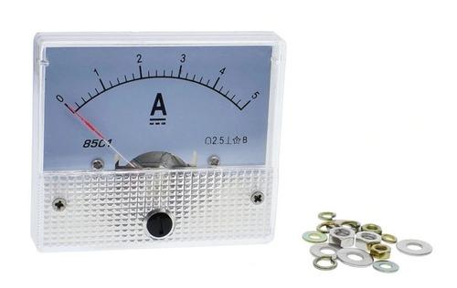 Sensor Corriente Analogo 85c1 Amperimetro Gb7676-98 56x64mm